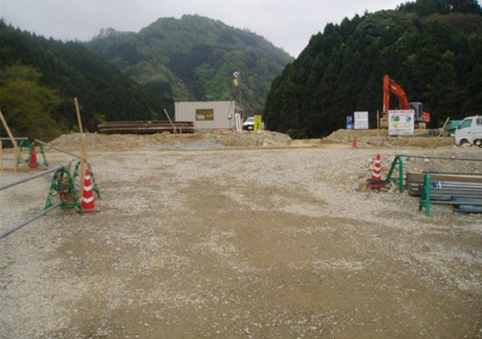 香住村岡線道路改良工事(釜石橋) 工事前
