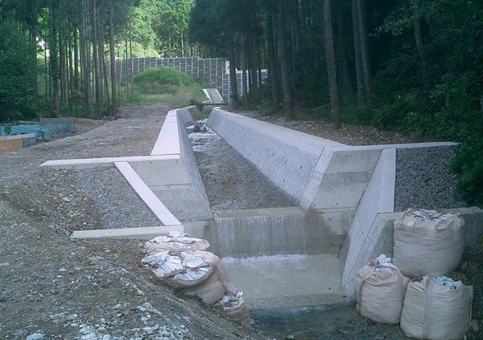 (砂)釜石川流路工事 工事後