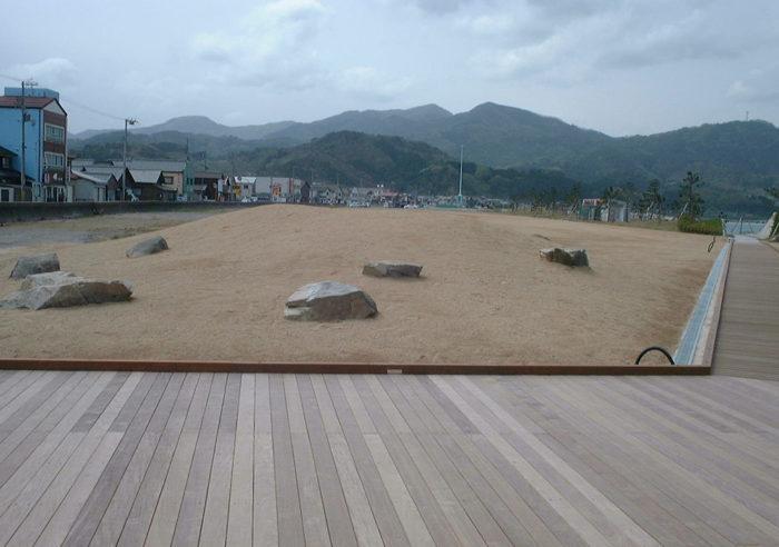香住漁港漁港環境整備工事 工事後