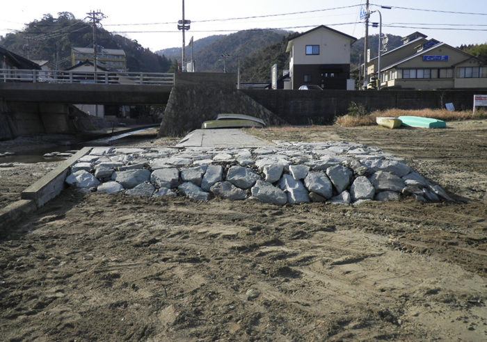 柴山港港湾補修工事 工事後
