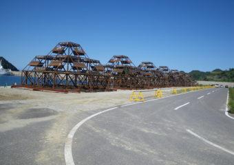 但馬沖合地区(津居山工区)増殖場造成工事