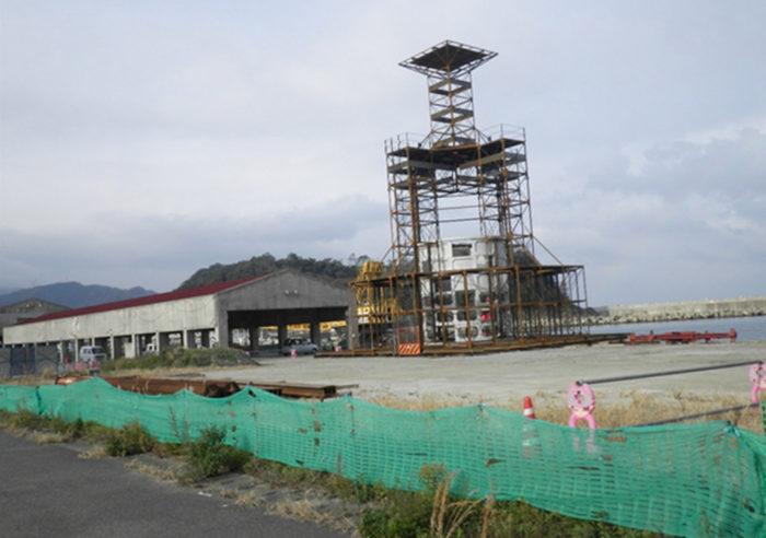 但馬沿岸中地区大型漁礁設置工事 工事前