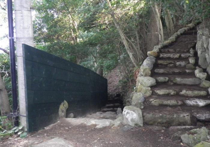 日和山観光防護柵設置工事 工事後