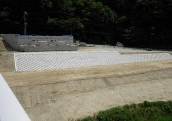 (主)香住村岡線(仮称)新大乗寺橋取付護岸設置工事