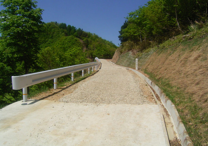 (基)瀞川氷ノ山線森林基幹道整備事業(26単拠第1号) 工事後
