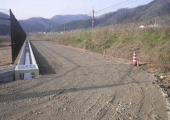 稲葉川土地区画整理事業 造成工事(その5)