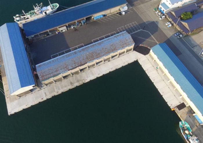 香住漁港西港-4.0m岸壁改良工事(その4) 工事後