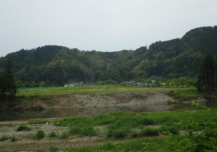 (二)矢田川水系矢田川河川災害復旧工事(甲第167号) 工事前