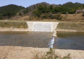 (二)佐津川水系佐津川河川災害復旧工事(甲第487,488号)